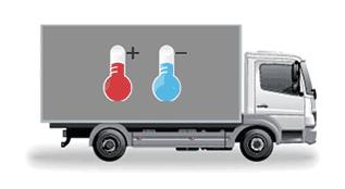 Изотермический фургон 3 тонны