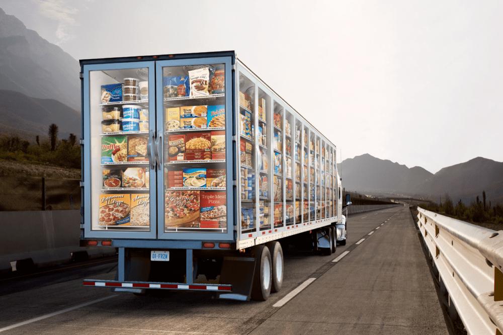 Температурные перевозки продуктов питания по России